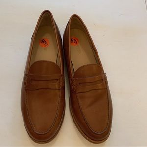 NWOB J. Crew Ryan penny loafers in leather